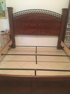 Ashley Furniture King Size Bed frame for Sale in Brandon, FL