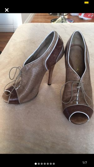 LAMB Brown Leather Booties for Sale in Long Beach, CA