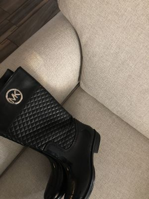 Black Micheal Kors boots for Sale in Denver, CO