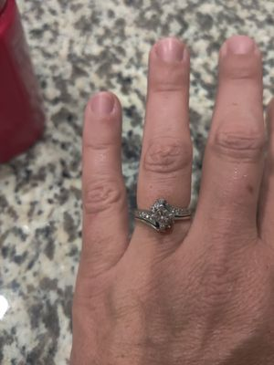Jared 1/2 karate wedding ring for Sale in Arvada, CO