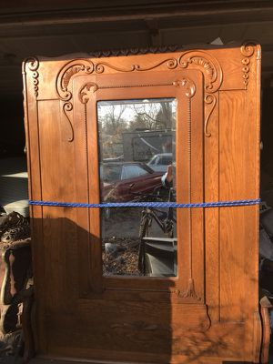 Antique Murphy Bed With Mirror for Sale in Columbus, OH