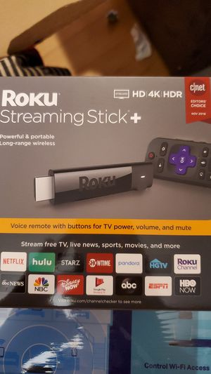 Roku* Streaming Stick Plus, BRAND NEW for Sale in Shoreline, WA