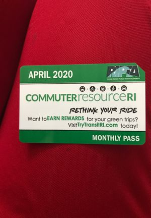 April monthly bus pass for Sale in Cranston, RI