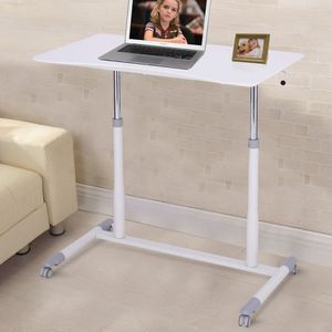 Height Adjustable Computer Desk Sit to Stand Rolling Table for Sale in Alhambra, CA