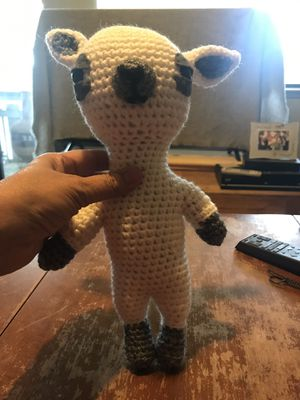 Stuffed animal appears to be handmade for Sale in San Jose, CA
