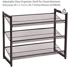 7 Tier Shoe Rack for Sale in Columbus, OH