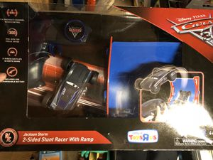 Disney cars Jackson storm rc remote control car for Sale in Lakewood, WA