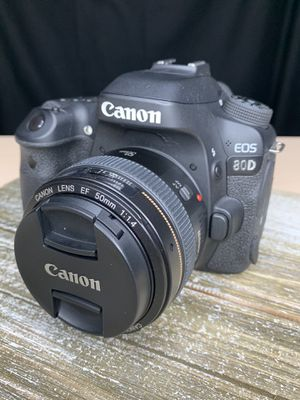 Canon EOS 80D KIT for Sale in Richmond, TX