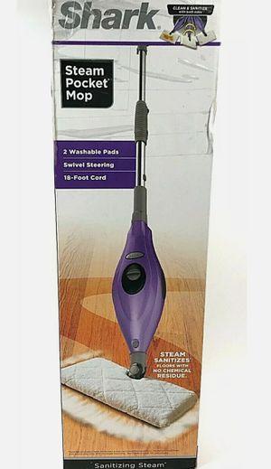 Shark Steam Pocket Mop S3501 N6 Sanitizing Steamer Lavender Chrome for Sale in Clovis, CA