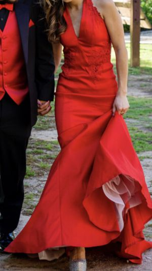 Red mermaid Prom Dress for Sale in Maxwell, TX