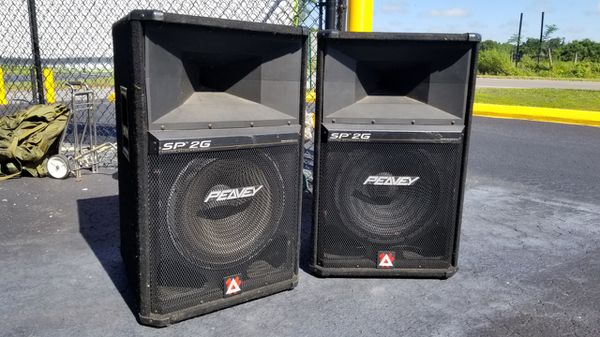 Peavy SP2G speakers!