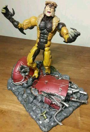 Sabertooth X-Men Action Figure marvel comics legends toy for Sale in Marietta, GA