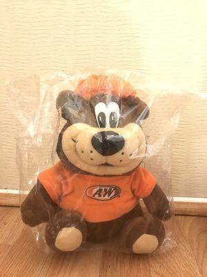 Bear 12 inches Stuffed Animal A&W for Sale in Highland, CA