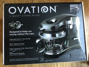 KenMoore Elite ovation 5 quart stand mixer for Sale in East Hartford, CT