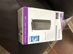 Netgear Modem router for Sale in Colleyville, TX