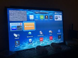 "40"" Samsung smart tv with wall mount for Sale in Minneapolis, MN"