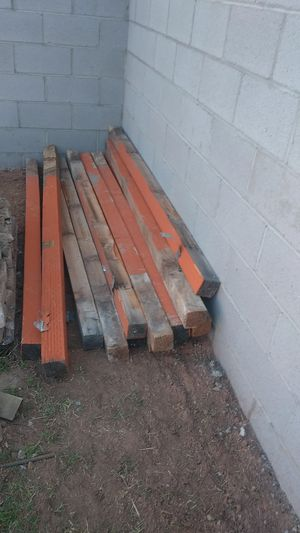 Wood post for fence for Sale in Mesa, AZ