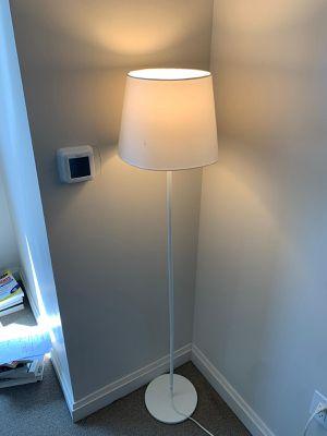 White floor lamp for Sale in Boston, MA