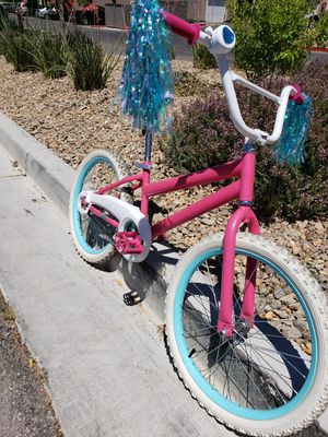 20 inch tires used bike works great, brakes are perfect. I just put 2 new inner tubes on both tires, I also added new grips w pompoms for Sale in Henderson, NV