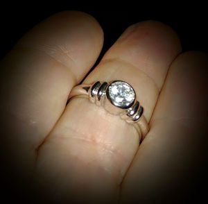S925 Sterling Silver AAAAA+ CZ Promise - Engagement Ring - Size 6 for Sale in Scottsdale, AZ