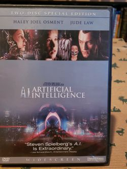 Artificial Intelligence DVD for Sale in Seabrook,  TX