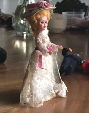 Vintage Aristocrat Girl Doll Lace Dress Collectible Antique Toy for Sale in Miami, FL