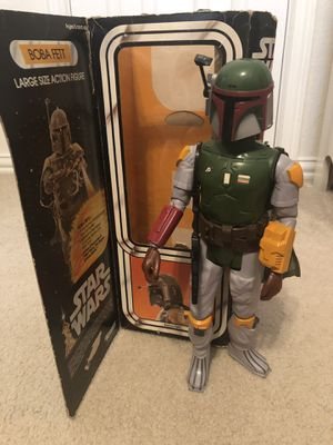 Boba Fett 1979- 12inch large action figure for Sale in Leander, TX