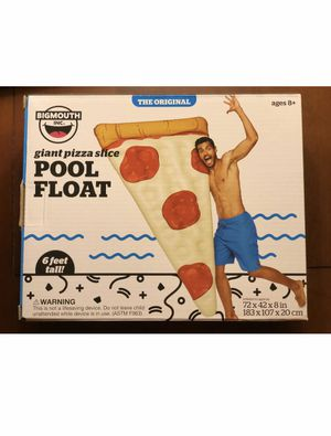 6ft Giant Pizza pool float. New in box. for Sale in Salem, MA