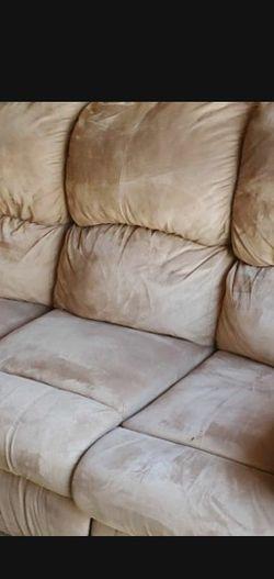 Sleeper Sofa Brown Microfiber for Sale in Oldsmar,  FL