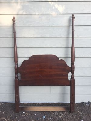 Beautiful Antique Wood Bed Frame- Twin for Sale in Houston, TX