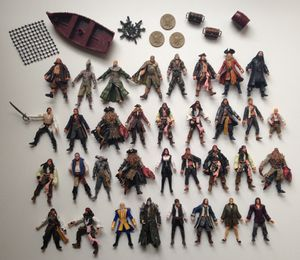 Pirates of the Caribbean Action Figures for Sale in Easton, MA