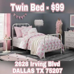 Twin Size Bed Frame for Sale in Dallas, TX