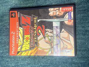 Dragon ball Z Budokai Tenkaichi 2 PS2 for Sale in Riverside, CA