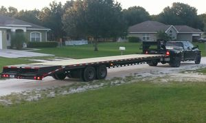 35' Gooseneck Flatbed Trailer for Sale in Okeechobee, FL