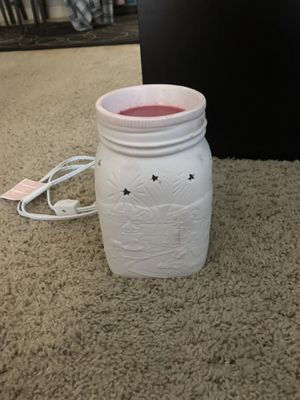 White scentsy warmer for Sale in Layton, UT