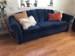 Vintage Blue Sofa for Sale in Post Falls, ID