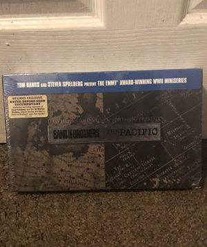 Blu-ray band of brothers and the pacific for Sale in Stockton, CA