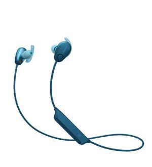 Sony WI-SP600N Sports Wireless Noise Canceling In-Ear Headphones - Blue ( WISP600N ) for Sale in Garland, TX