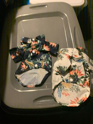 Dog pet apparel Hawaii shirts size extra small for Sale in Los Angeles, CA