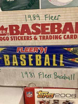 Fleer Baseball 1989 box set one box for Sale in Philadelphia, PA