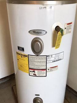 Whirlpool Electric Hot Water Heater for Sale in Deer Park, WA
