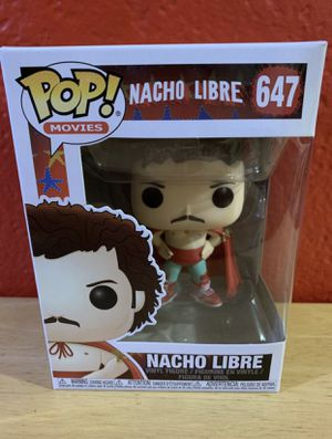 Nacho Libre Funko POP #647 for Sale in San Jose, CA