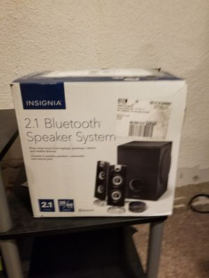 Insignia bluetooth studio speakers for Sale in Sioux Falls, SD