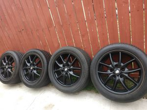 Porsche Cayenne OEM 19inch rims with tires $380 for Sale in Fontana, CA