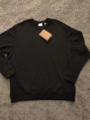 Mens Burberry black longsleeve sweater for Sale in Seattle, WA