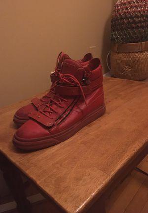 Giuseppe all Red Designer Sneakers for Sale in Lanham, MD