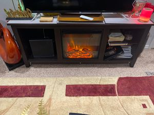 Tv stand/ Fireplace for Sale in West Valley City, UT