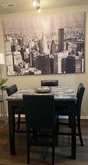 Modern luxury dining table set for Sale in Fairfax, VA