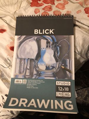Blick Drawing Paper Pad for Sale in Los Angeles, CA