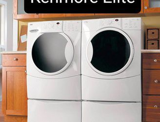 RELIABLE KENMORE ELITE WASHER AND DRYER SET, DELIVERY WARRANTY for Sale in Boise,  ID